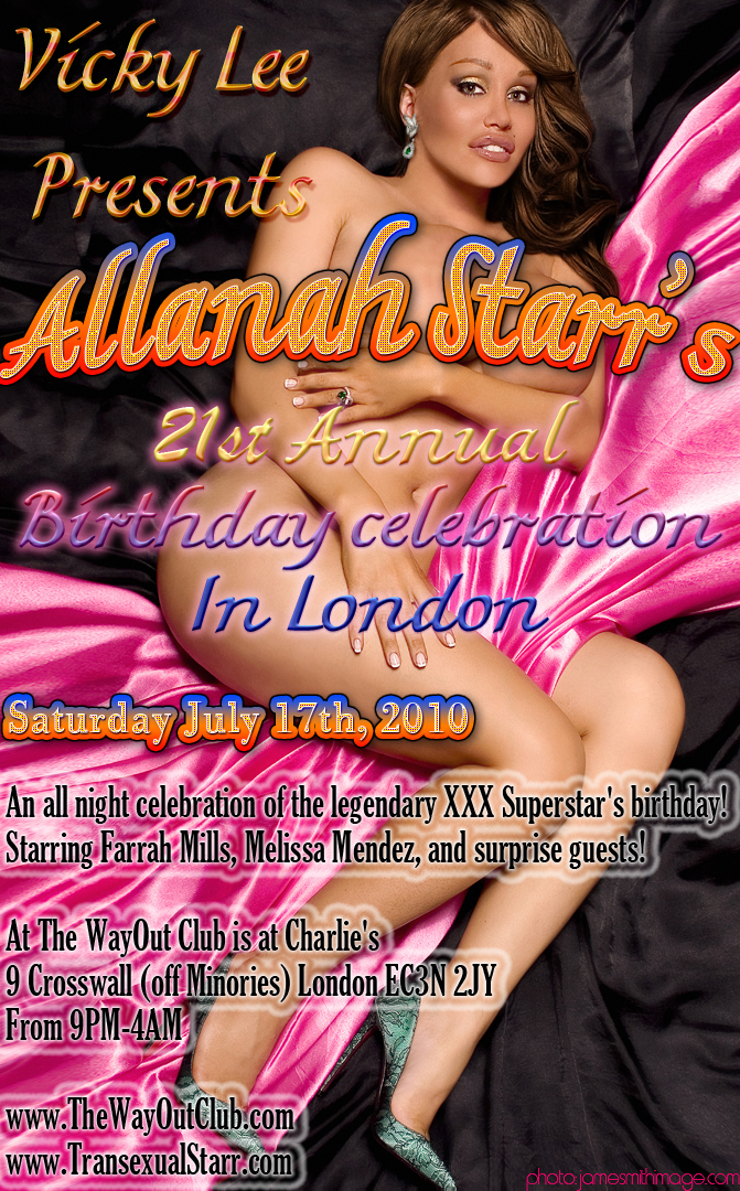Allanah Starr party